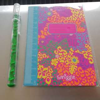 Smiggle A6 note book rm7 NEW