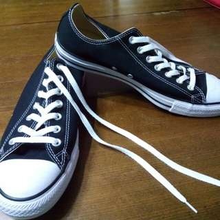 Original Converse All-Star Lowcut Black Shoes