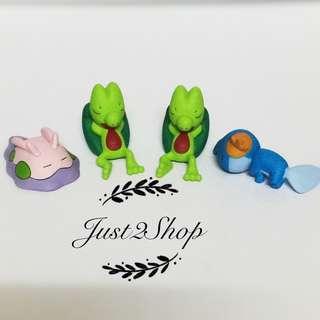 Sleeping Pokémon