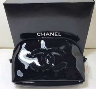 Authentic vip gift chanel sling bag patent