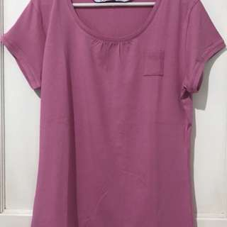 Minimal Tshirt Pink ORI