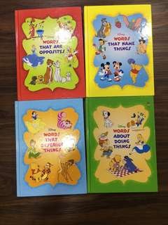 Grolier Disney's Words Words Words books Collection