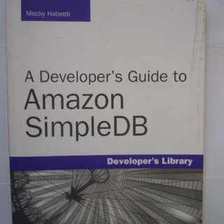 A Developer's Guide to A_mazon SimpleDB (BOOK)