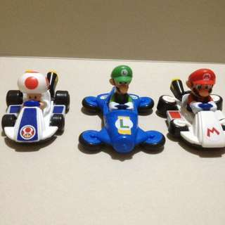 Mario Kart Happy Meal set