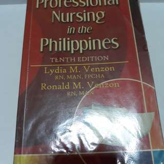 PROFESSIONAL NURSING BOOK
