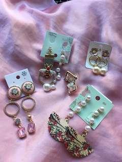 Pretty earrings from Korea
