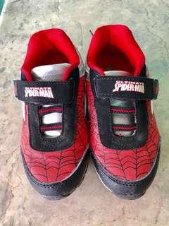 Preloved Spiderman Rubbershoes