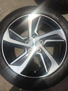 """Original Honda Odyssey 17"""" Rims"""