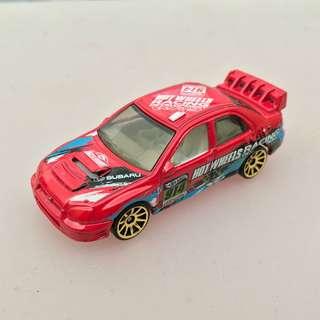 Hot Wheels Subaru Impreza
