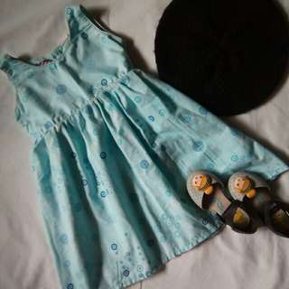 ⛔Kids OOTD (Dress & Shoes)