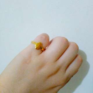 Lucky clover ring size 6