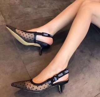 Dior sling back shoes