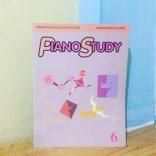 Yamaha Piano Study 6