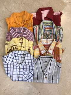 Short sleeve Shirt Bundle 18-24mths 8pcs