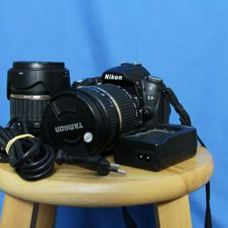 Nikon D90 with 2 lens tamron