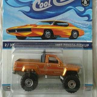 Hot Wheels Cool Classics 1987 Toyota Pickup