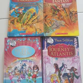 Geronimo / Thea Stilton Books