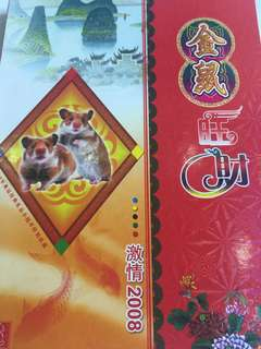 🔥Clearance🔥China Golden Rat Album Collection 2008