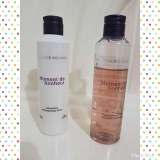 Yves Rocher Body Lotion New & Sabun mandi isi 75%  dua barang 130.000 size besar 200 ml