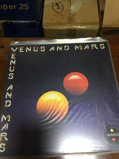 Venus and Mars - 4th Studio album by Wings (1975) and Paul McCartney's first post Beatle album