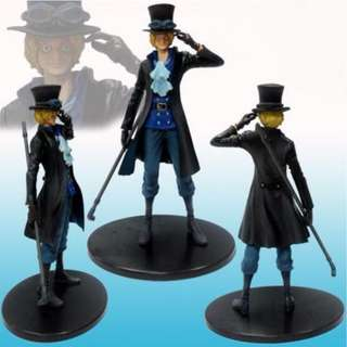 Japan Anime Cartoon Action Figure PVC Model Toy Child Gift One Piece Sabo 7in.