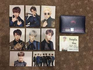 WTS Epilogue On Stage Mini Photocards