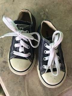 Preloved CONVERSE Blue Rubbershoes