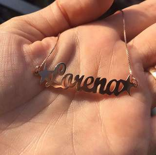 D.I.Y Name Necklace