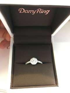 全新Darry Ring 30分求婚鑽石戒指💎有GIA認證