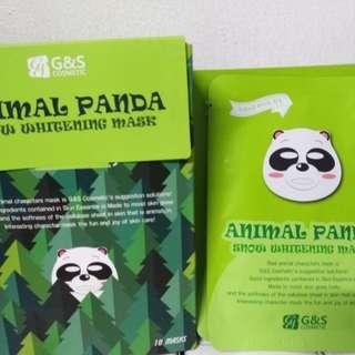 G&S Panda Mask Sheet 10pcs