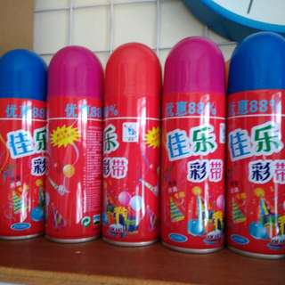 Ribbon spray 10 bottles