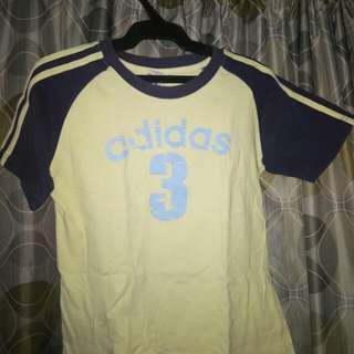 Adidas Varsity semi crop top