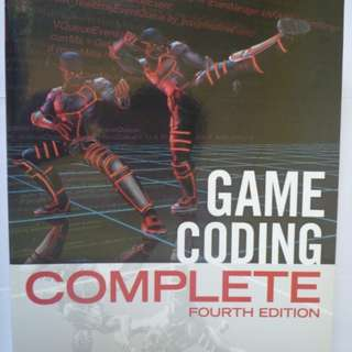 Game Coding Complete (Conditions : NEW)