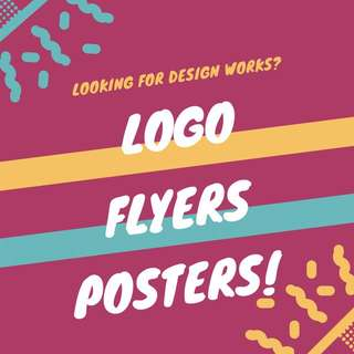 Logo Designing Flyers and Posters design