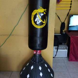 Freestanding punching bag