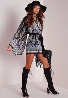 New with tags Paisley Missguided playsuit