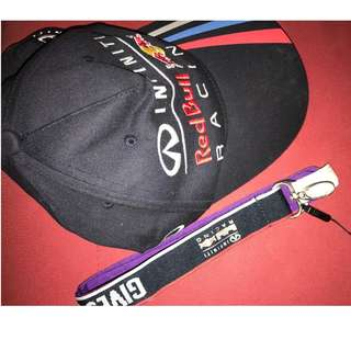 REDBULL INFINITY Limited edition CAP and Lanyard