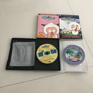Children Chinese DVD Pleasant Goat and Big Big Wolf Xi Yang Yang