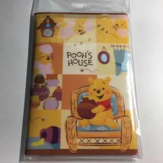 Japan Tokyo Disney Winnie The Pooh Letter Set with File 信封 信紙 維尼