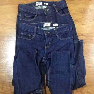 Preloved Osh Kosh Bgosh Skinny Jeans Size 8