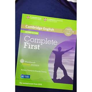 Cambridge English Workbook (Official) (Second Edition)