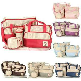 5in1 Diaper bag