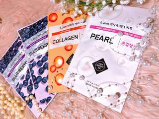 ETUDE HOUSE FACE MASKS