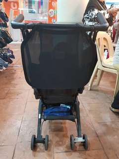 Pockit geoby for let go.. Condition 8/10..Handle kanan longgar sikit..stroller xbole recline..color blue jeans..Slightly nego..