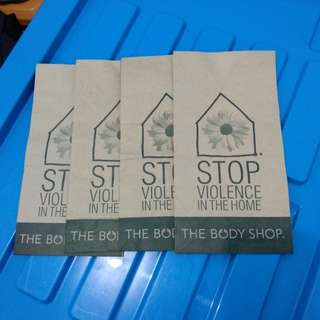 [The body shop] Paper bag
