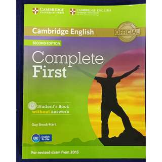 Cambridge English Student's book (Official) (Second Edition) (B2)