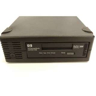 HP StorageWorks DAT 320 USB External Tape Drive (Hi-Speed USB Series), with 1 tape+1Cleaning