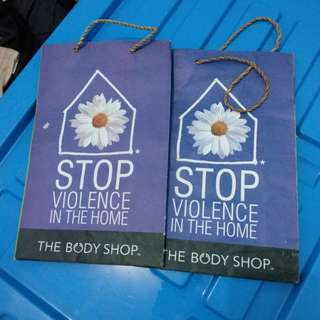 [The body shop] Paper Bag