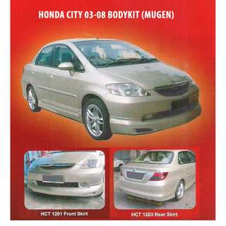 Skirting Honda City 4th Generation (03-08) - MUGEN