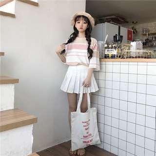 (PO) Candy Color Stripes Top